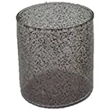 AKP Glass Decorative Candle Stands - 3 Inch X 3 Inch, Black