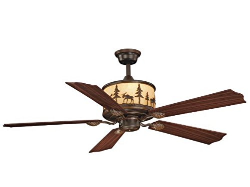AireRyder FN56305BBZ Yellowstone 56-Inch Ceiling Fan, Burnished Bronze