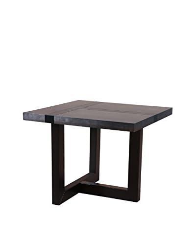 Urban Spaces Stonehenge End Table, Gray