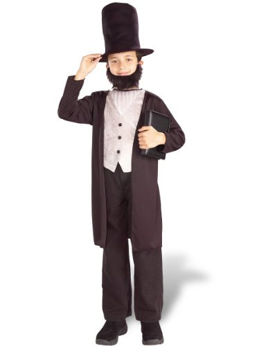 Child Historical Abe Lincoln Costume