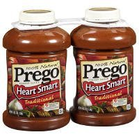 Prego Heart Smart Traditional - 2/67oz (Pasta Sauce Low Sodium compare prices)