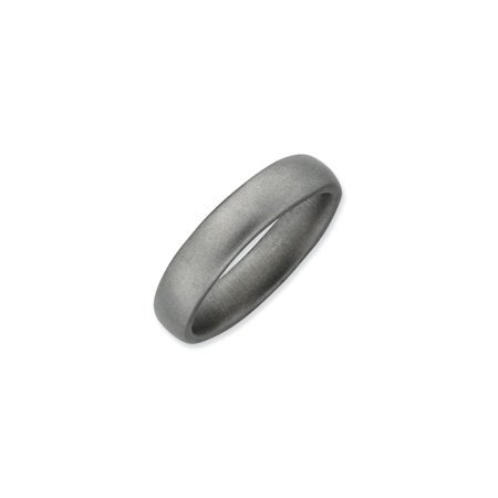 Stackable Expressions : 4.5mm SS Satin Band, Size T