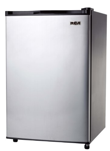 Rca Rfr322 3.2 Cu Stainless Steel Refrigerator