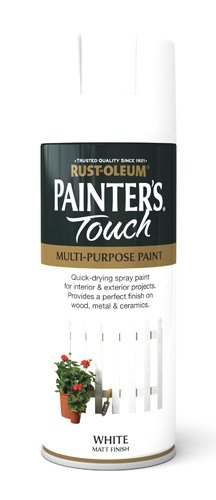 Rust-Oleum 400ml Painters' Touch Spray Paint - Flat White