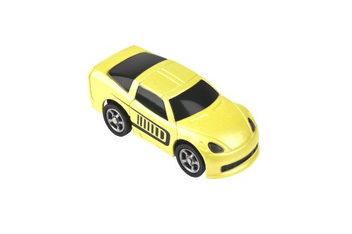 Tagamoto Code On The Road Single Car *YELLOW SPORTS CAR* - 1