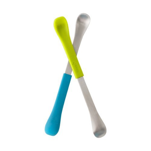 Boon Swap Baby Utensils,Blue/Green Color: Blue/Green Size: 1 Pack Newborn, Kid, Child, Childern, Infant, Baby front-432909
