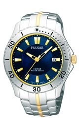 Pulsar by Seiko Active Sport Two-tone Men's watch #PXHA31