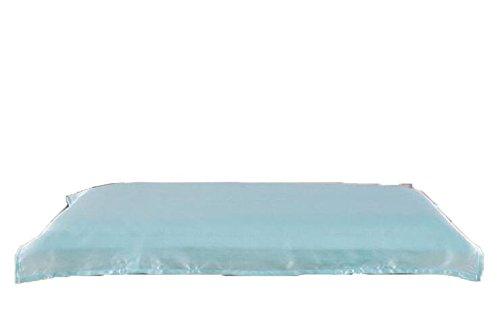 lifestance Baby Kleinkind Kissen Fall cover-100% reinen, natürlichen Maulbeer Seide Kissenbezüge blau