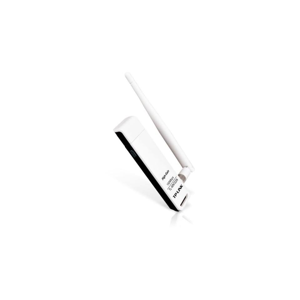 TP Link TL WN722N 150Mbps High Gain Wireless USB Computer