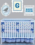 Caden Lane Ikat Collection Gage Crib Bedding Set