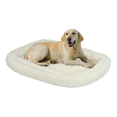 "Quiet Time Deluxe Fleece Double Bolster Bed Size: 24"" - 27"" L X 20"" W"