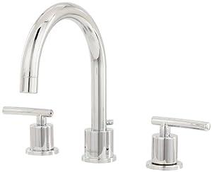 Pegasus Fw0c4100cp Dorset 8 Inch Widespread 2 Handle High Arc Bathroom Faucet With Pop Up