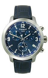 Tissot PRC 200 Blue Chronograph Quartz Sport Men's watch #T055.417.16.047.00