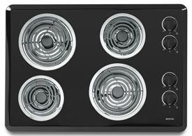 Maytag Admiral LEC1330AAB 30 Inch Electric Cooktop - Black