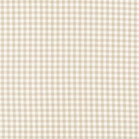 Gingham Bassinet Sheets - Set of 6 - Color: Sand Size: 17 x 31