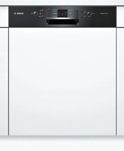 Bosch SMI53M46EU lave-vaisselle - laves-vaisselles (Entièrement intégré, A, A++, Noir, Blanc, boutons, LED)