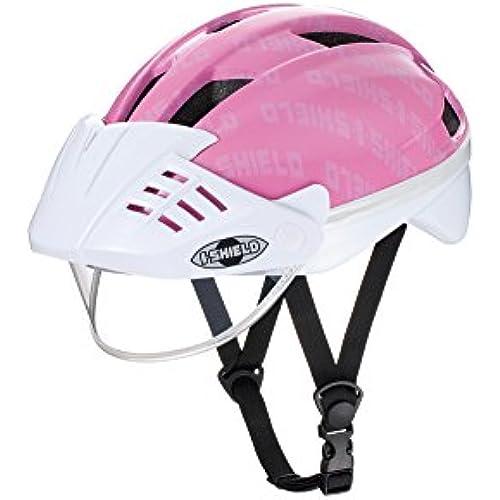 아이데스 아이실드 헬멧S 핑크