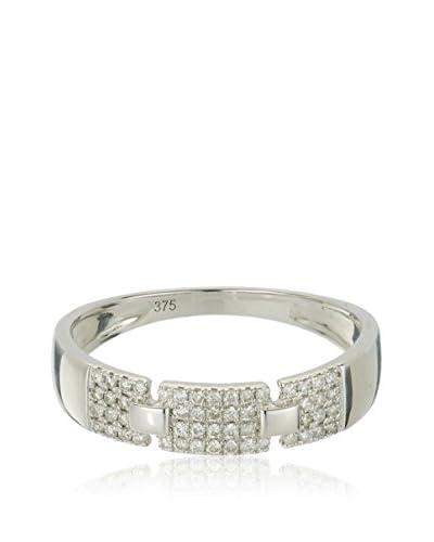 Bentelli Anillo 9K Gold 0.19Ct Diamonds