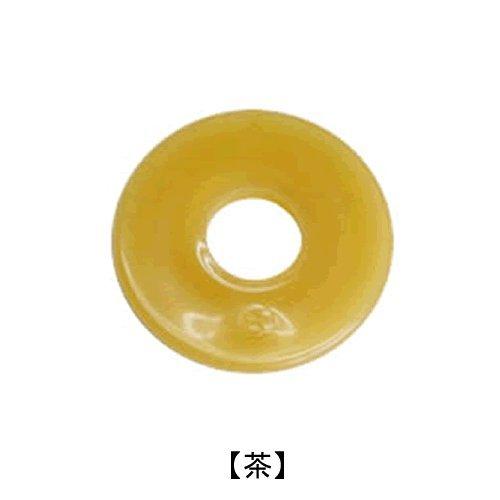 For Kendo shinai tsuba (guard) (translucent [tea], L)