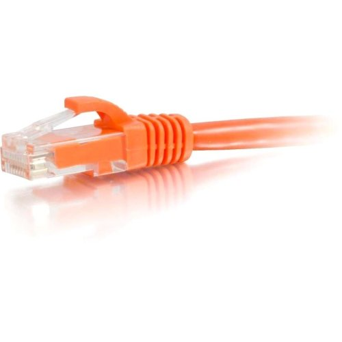 10Ft Cat6 Snagless Unshielded (Utp) Network Patch Cable . Orange . Category 6 For Network Device . Rj. 45 Male . Rj. 45 Male . 10Ft . Orange