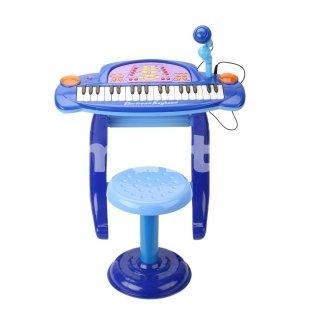 36-Keys Keyboard Electronic Organ Toy Blue