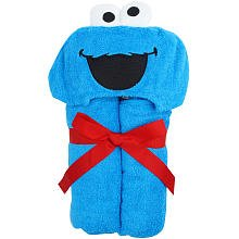 Baby hooded Towel ~ Cookie Monster