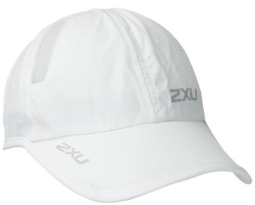 2XU Run Cap, White/White, One Size (2xu Sun Visor compare prices)