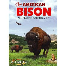 The American Bison 1-16 Atlantis Model Company