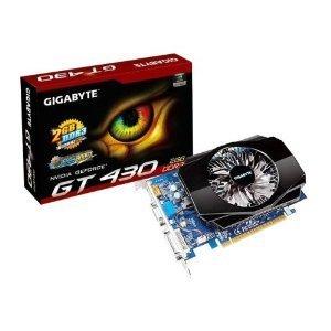 Gigabyte GV-N430-2GI GeForce GT 430 2GB DDR3 PCI Express 2.0 DVI-I-HDMI-D-Sub Graphics Card