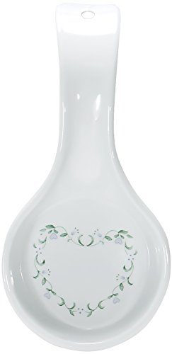 Corelle Coordinates Country Cottage Melamine Spoon Rest (Small White Spoon Rest compare prices)