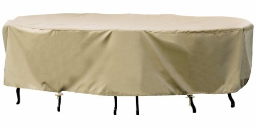 Challenger Large Oval Table/Chair Winter Cover