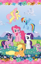 Amscan - My Little Pony Friendship Magic Paper Tablecover