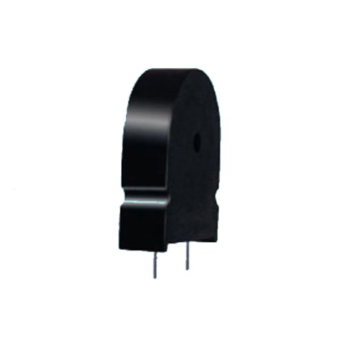 Generic Pack Of 100Pcs Pcb Mounted Piezo Buzzer 25V 2500Hz Black Case