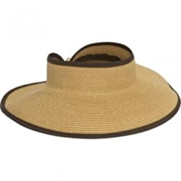 San Diego Hat Roll Up Visor (Camel)