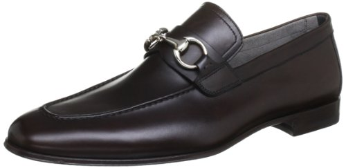 Magnanni Men's Everest Belmont Brown Loafers 10 UK