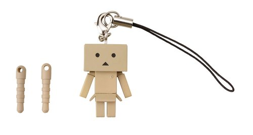 Kotobukiya Yotsubato Danboard Strap Charm for Smartphones - 1 Pack - Retail Packaging - Brown