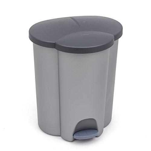 kis lotus set de poubelles plastique 8013183027537 cuisine maison syst mes de tri des. Black Bedroom Furniture Sets. Home Design Ideas