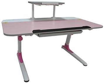 Ore International Kid da scrivania con ripiano per tastiera, ergonomico–blue-p Pink
