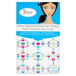 Grace Your Face - Deep Cleansing Nose Pore Strips (contains 6 strips)