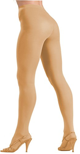 Forum Novelties Women's Plus-Size Novelty Solid Color Queen Tights, Beige, Plus