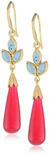 Eddera Jewelry Contessita Hot Pink Earrings