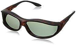 Vistana Polarized SoftTouch Frame Fitover Small Sunglasses