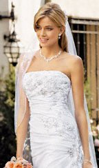 David's Bridal Spring 2008 Wedding Dress