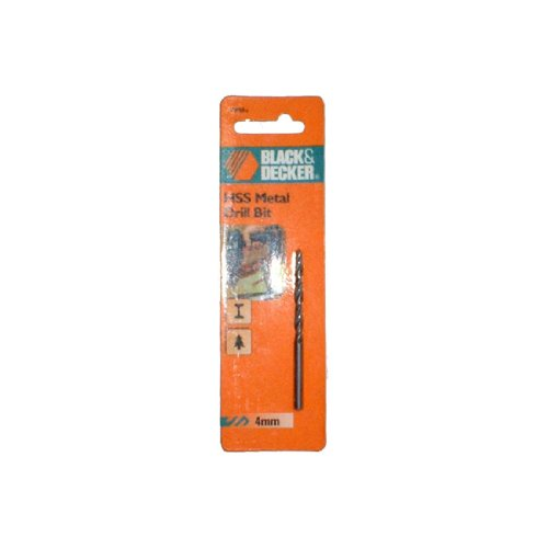 B&D 4MM Metal Drill Bit (Black And Decker Metal Cutter compare prices)