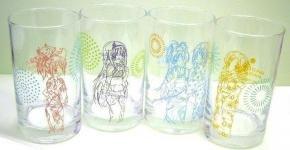 ローソン限定 魔法少女まどか☆マギカ オリジナルグラス全4種