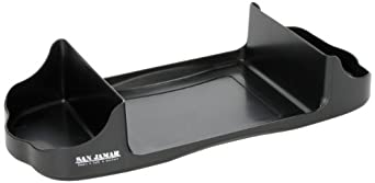 "San Jamar H400 Venue Table Top Caddy, 14-1/4"" Width x 2-3/4"" Height x 6-1/8"" Depth, Black Pearl, For Fullfold Control Napkin Dispenser"