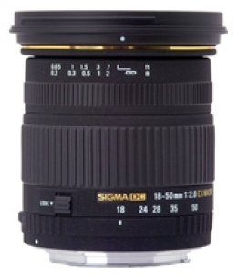 Sigma 18-50mm f/2.8 EX DC Macro HSM Lens (Nikon Mount)