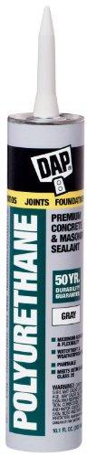 Dap premium polyurethane construction adhesive sealant - Commercial grade exterior caulking ...