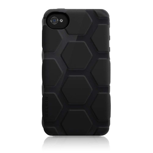 313vr4YDLVL # Belkin Max Case for Apple iPhone 4S (Blacktop) Discount