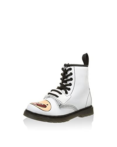Dr. Martens Stivaletto A. Time Lace Boot White Softy